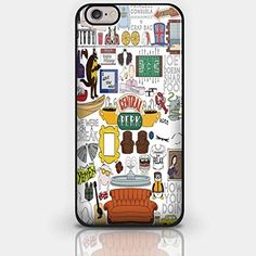 Central Perk Friends Fan Art for Iphone and Samsung Galaxy Case (iPhone 5/5s Black)
