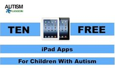 10 free ipad apps for children with autism