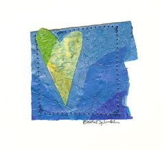 Give a piece of Valentine Recycled art!