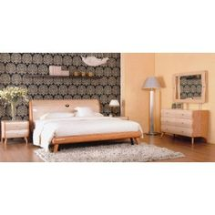 Verona Contemporary Lacquer Bedroom Set $2300