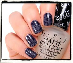 OPI Matte top coat and comparison