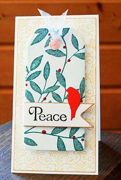 Holiday Wish by Elizabeth Allan's Art Studio, via Flickr