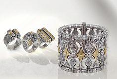 KONSTANTINO   The Penelope Women collection #rings #bracelets #bangles #konstantino #jewelry #greekJewelry #jewels #treasure #womensfashion #Iliada #rockJewelry #gold #silverSterling #elegance #gemstone
