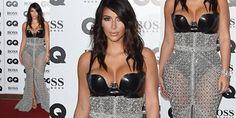 Kim ha scelto di indossare un body in lattice Atsuko Kudo, una gonna a sirena Ralph and Russo, molto trasparente, interamente cosparsa di cristalli, con un profondo spacco frontale che lasciava intravedere i brillanti sandali Tom Ford. http://www.sfilate.it/231416/mrs-audacia-kim-kardashian-illumina-londra