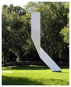 Ellsworth Kelly, Untitled, 2005, Painted stainless steel and aluminum