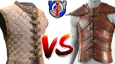 Why padded armor (Gambeson) is way better than leather armor.