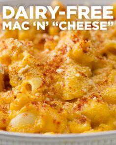 "Dairy-Free Mac 'N' ""Cheese"" Recipe by Tasty"
