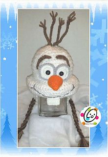 Olaf Hat on Pinterest Frozen Hat, Crochet Olaf Hat and Anna Cape