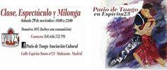 Patio de Tango, un evento para disfrutar de la cultura argentina en Malasaña