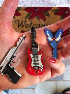 cool shaped keys