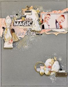 by Emma Trout  using Webster's Pages papers, Shabby Chic Treasures& Junkyard Findings by Ingvild Bolme!