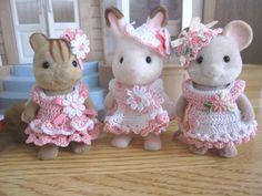 シルバニアファミリーの手作りお洋服~ニット~ | ♪miniminihappyのハンドメイド日記♪ - 楽天ブログ