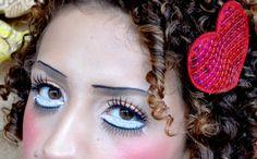Maquiagem artística Boneca de Porcelana Passo a Passo Vintage Doll