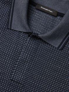 Polo a Quadri Micro Blu Uniforme 10254533 Polo Shirt Outfits, Mens Polo T Shirts, Golf Shirts, Camisa Polo, Polo Sweater, Men Sweater, Polo Shirt Design, Stylish Mens Outfits, Lacoste Men