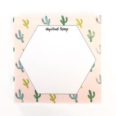 Image of Cactus Sticky Notes