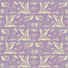 Thistle fabric by amyvail on Spoonflower - custom fabric