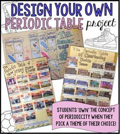 Chemistry periodic table trends guided inquiry lesson ionic radius perfect student centered project on periodicity design your own periodic table project urtaz Choice Image