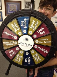 Have you sorta figured out that Morel Ink staff are excited about Doggie Dash? Be sure to stop by our booth to play Spin the Wheel. We'll have great prizes for the winners. (and isn't everyone really a winner). Buy this Prize Wheel at http://PrizeWheel.com/products/tabletop-prize-wheels/mini-clicker-prize-wheel/.