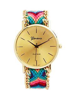 Pink Camp Bracelet Watch | rue21