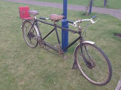 1939 TRIUMPH TANDEM Vintage Antique Bicycle |