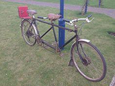 1939 TRIUMPH TANDEM Vintage Antique Bicycle |