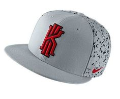 6f613fa657f22 Brand New Adult With Tags Nike Kyrie Take Notes True Snapback Cap Wolf  Grey Red