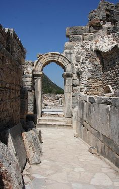Ephesus was an ancient Greek City, and later a major Roman City. It is located in Anatolia, Turkey.
