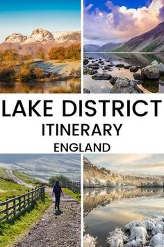 Are you planning to visit the beautiful Lake District in England? This article has suggestions on the best places to visit in the Lake District as well as a suggested itinerary for the Lake District. Places To Visit Uk, Places To Travel, Lake District Walks, England Lake District, Norfolk, Ireland Travel, Travel Uk, Travel England, Scotland Travel