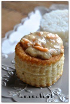 Bouchées feuilletées au saumon, crevettes et champignons de la-main-a-la-pate.fr/