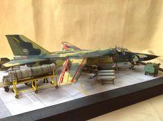 1/48 scale USAF FB - 1111 Ardvark by ademodelart Jkt Indonesia