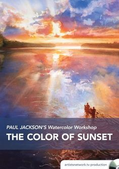 Paul Jackson's Watercolor Workshop: The Color of Sunset Video Download | NorthLightShop.com