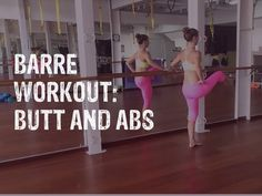 Barre Workout BUTT AND ABS