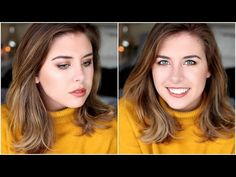 !!!Everyday Winter Makeup Routine! // Ft. Too Faced Sweet Peach Palette! - YouTube