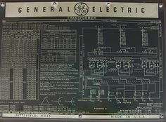 General Electric power transformer nameplate (50 MVA Substation Power Transformer with Load Tap Changer)