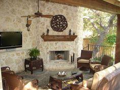 Hill Country Retreat - traditional - patio - dallas - Dallas Renovation Group
