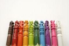 Crayon Sculptures!