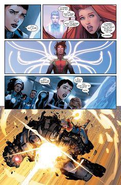 Civil War II (of - Comics by comiXology Avengers Comics, Marvel Vs, Marvel Heroes, Captain Marvel, Comic Books Art, Comic Art, Create A Comic, Cosmic Comics, Marvel Cartoons
