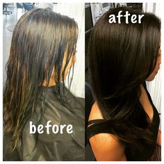 All nutrient hair color by Yulee at VLVT salon