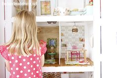 Dollhouse diaries: what a great way to be creative with your daughter; design a dream {doll}house with her!