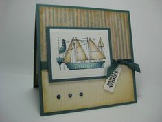 Set Sail Birthday by CherylQuilts - Cards and Paper Crafts at Splitcoaststampers