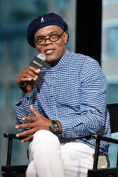 Samuel L. Jackson credits his wife with helping him turn away from drugs and toward success.