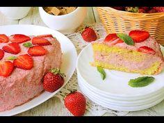 Пирог с клубникой: Клубничный пирог: Выпечка с клубникой - YouTube