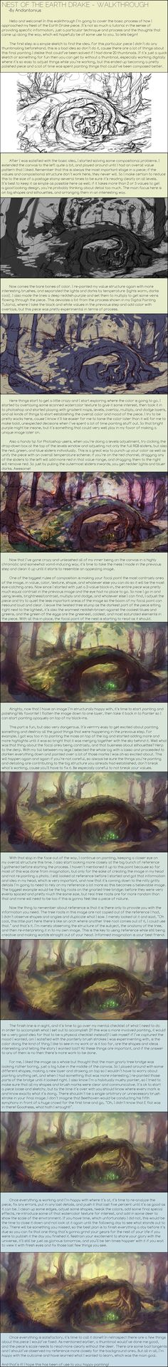 Earth Drake Nest - Walkthrough by Andantonius