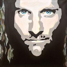 #Aragorn (Viggo Mortensen) for #Artfordables