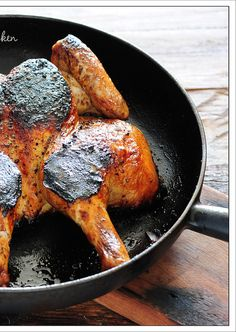 Want to grill perfectly every time? All it takes is seven fires and a little cultural lesson...   Flattened Chicken with Parsley Sauce By Jules: Stone Soup