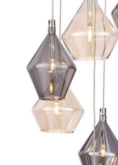 Elara Cluster Pendant Light x - All For Decoration Pendant Lighting Bedroom, Stair Lighting, Modern Lighting, Pendant Lamp, Lighting Design, Club Lighting, Lighting Ideas, Hallway Lighting, Luxury Lighting