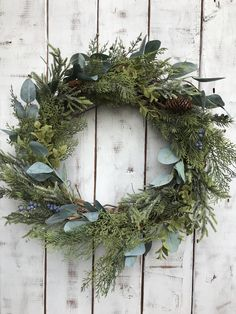 Holiday Gift Ideas for Couples - ad - Rustic Christmas Wreath