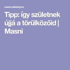Tipp: így születnek újjá a törülközőid | Masni Cleaning, Film, Crochet, Dolphins, Movie, Film Stock, Cinema, Ganchillo, Home Cleaning