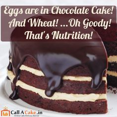 Eggs are in #chocolate #cake!and wheal!.. oh goody! that's nutrition!#heathy #diet #callacake.in