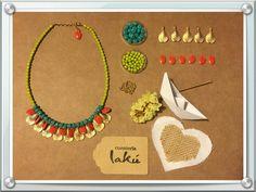 Murad que collar más bonito hemos diseñado con algunas de nuestras novedades!!! Anímate a crear!!! www.lakuweb.com